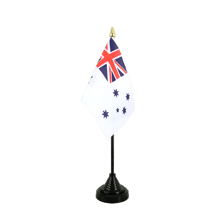 Mini drapeau de table Royal Australian Navy 10x15 cm
