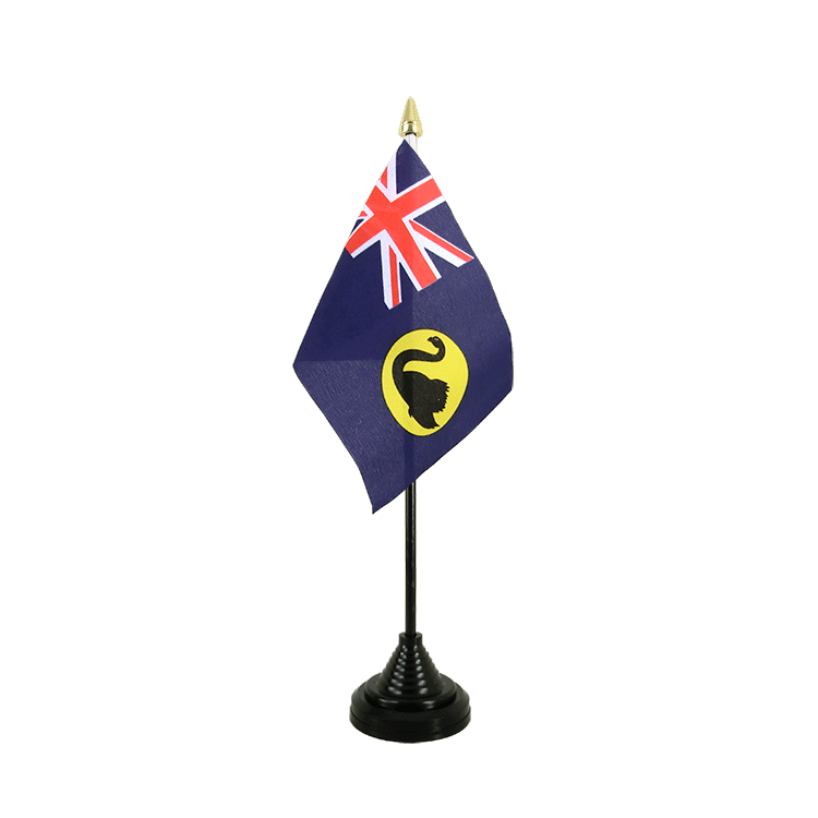 "Desk and Table Flag Australia Western - 4x6"" (10 x 15 cm)"