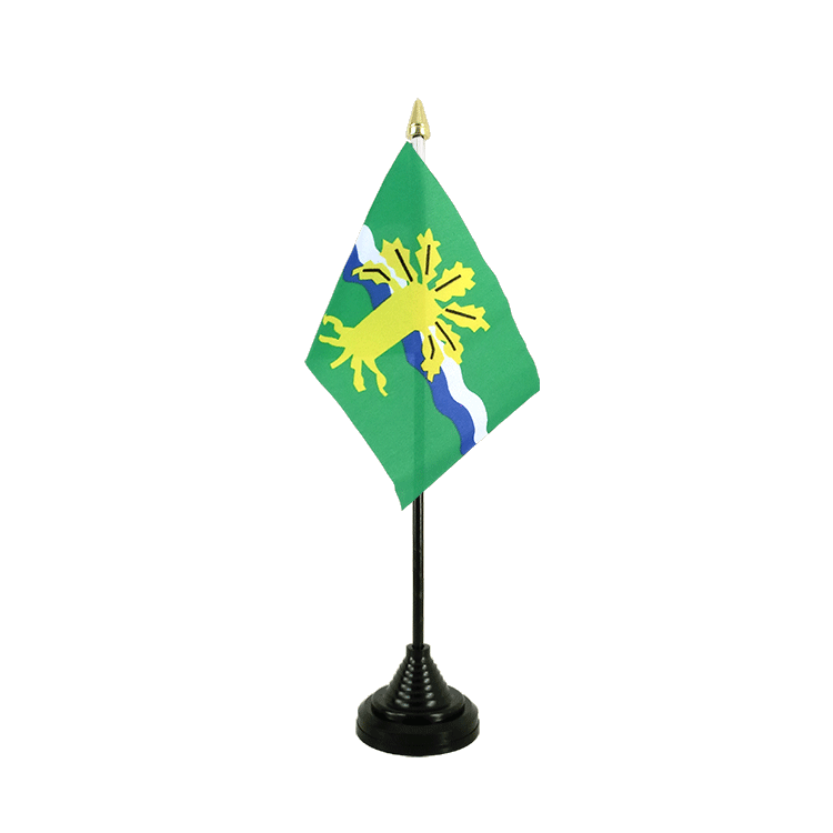 "Table Flag Nottinghamshire - 4x6"" (10 x 15 cm)"