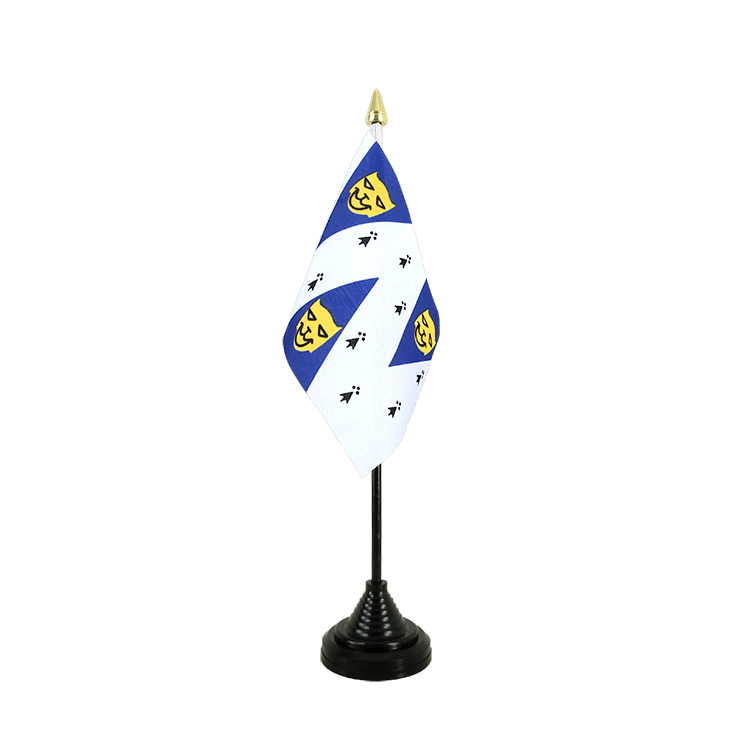 Mini drapeau de table Shropshire 10x15 cm