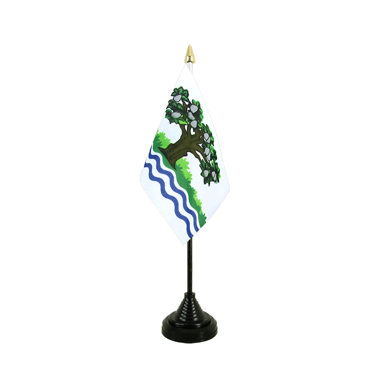"Table Flag Worcestershire - 4x6"" (10 x 15 cm)"