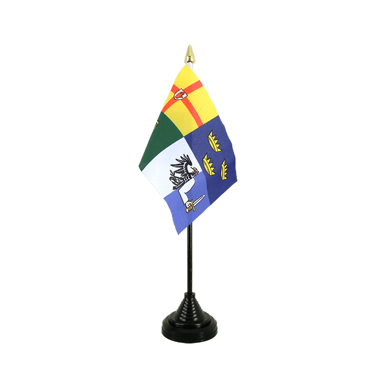 "Desk and Table Flag Ireland 4 provinces - 4x6"" (10 x 15 cm)"