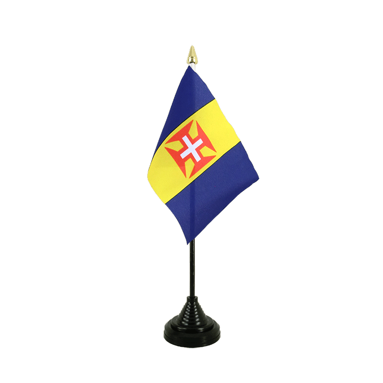 "Table Flag Madeira - 4x6"" (10 x 15 cm)"