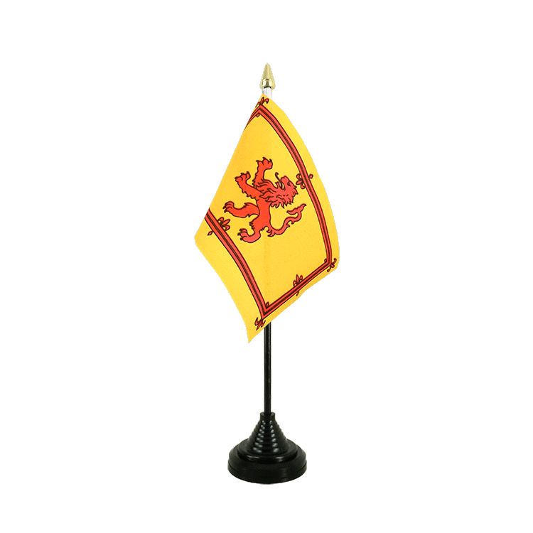"Table Flag Scotland Royal - 4x6"" (10 x 15 cm)"