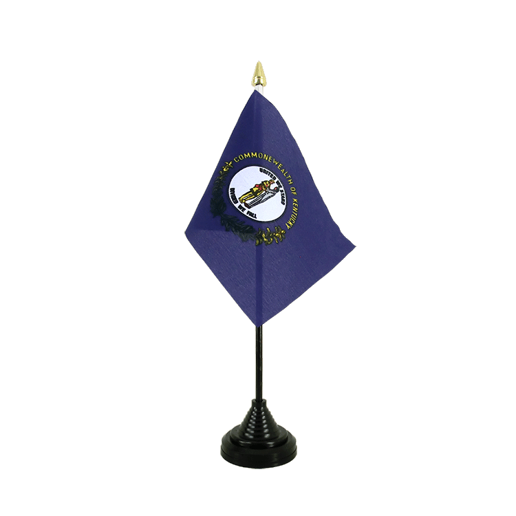 "Table Flag Kentucky - 4x6"" (10 x 15 cm)"