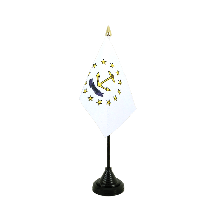 "Table Flag Rhode Island - 4x6"" (10 x 15 cm)"