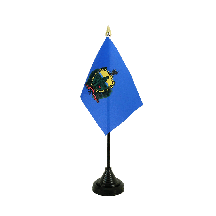 "Desk and Table Flag Vermont - 4x6"" (10 x 15 cm)"