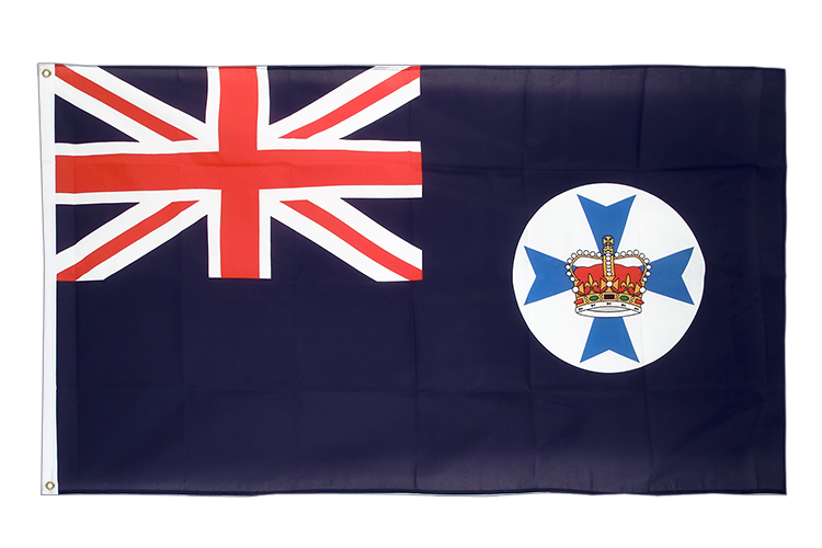 Cheap Flag Queensland - 2x3 ft