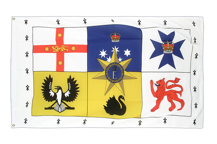 Cheap Flag Australia Royal Standard - 2x3 ft