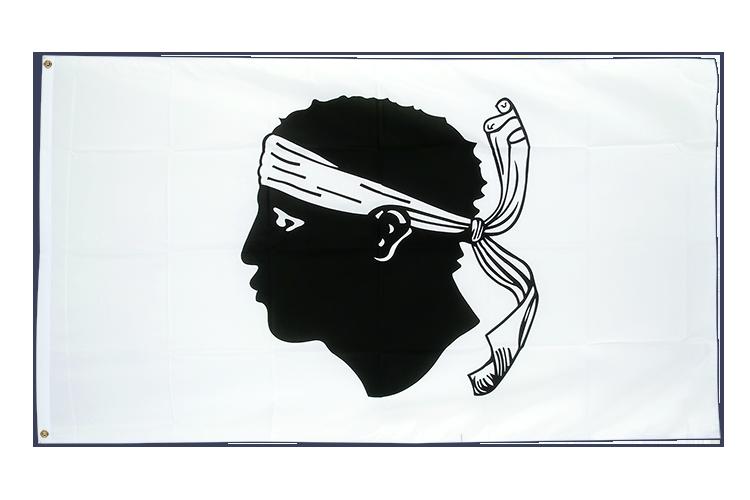 Grand drapeau Corse 150x250cm