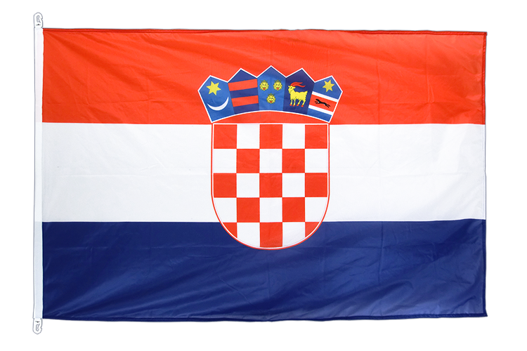 Drapeau Croatie. Pavillon croate 100x150 cm.