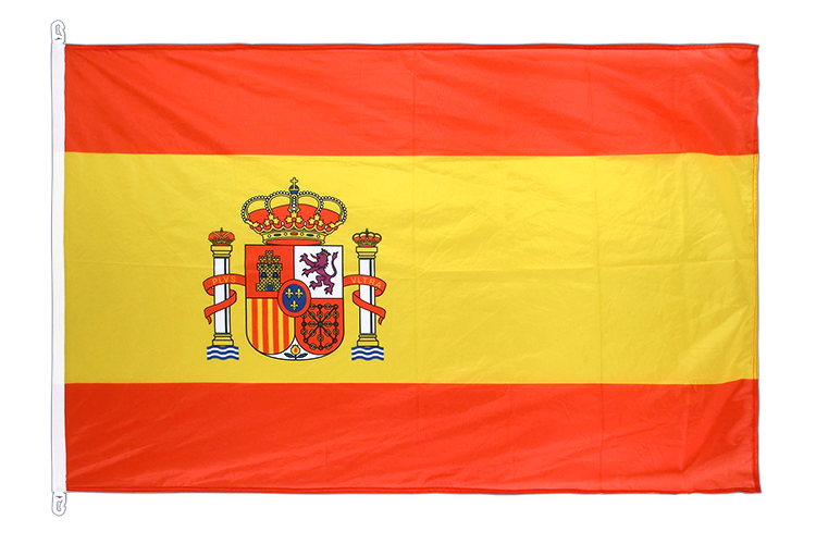 Flag PRO Spain with crest - 100 x 150 cm