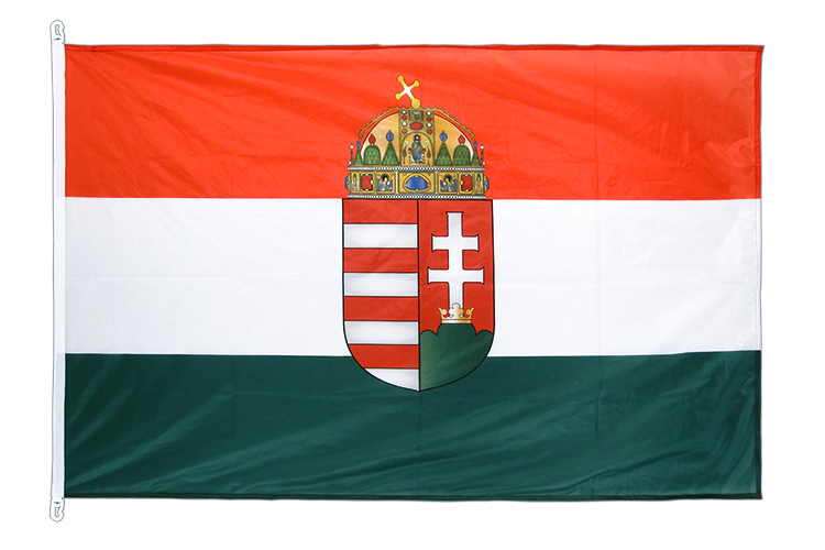 Flag PRO Hungary with crest - 100 x 150 cm