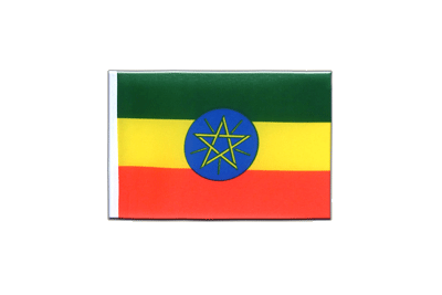 Mini Flag Ethiopia with star - 4x6""