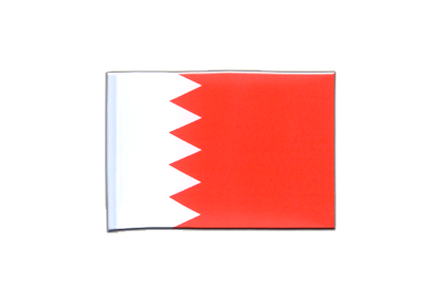 Mini Flag Bahrain - 4x6""