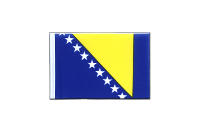 Mini Flag Bosnia-Herzegovina - 4x6""