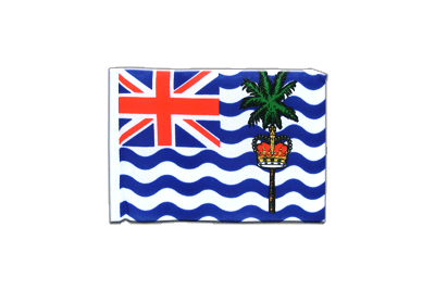 Mini British Indian Ocean Territory Flag 4x6""