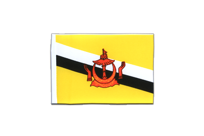 Mini Flag Brunei - 4x6""