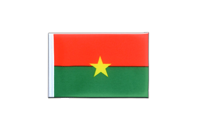 Mini Flag Burkina Faso - 4x6""