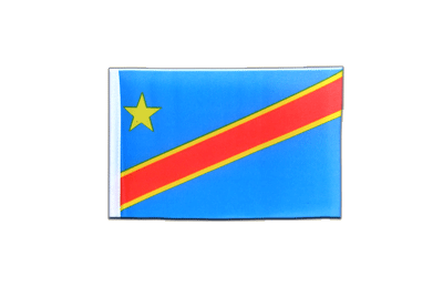 Mini Democratic Republic of the Congo Flag 4x6""
