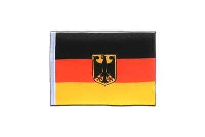 Mini Flag Germany Dienstflagge - 4x6""