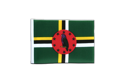 Mini Flag Dominica - 4x6""