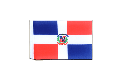 Fanion drapeau République dominicaine 10x15 cm