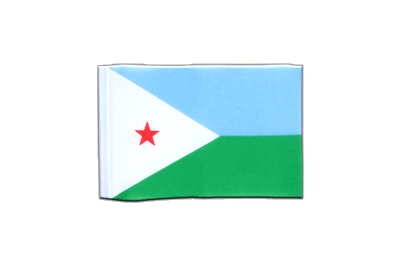 Mini Flag Djibouti - 4x6""