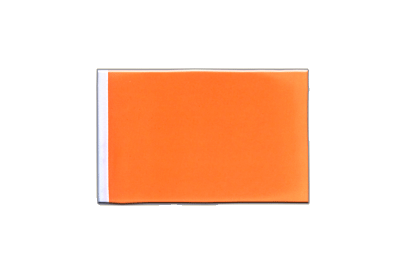 Fanion drapeau Orange 10x15 cm