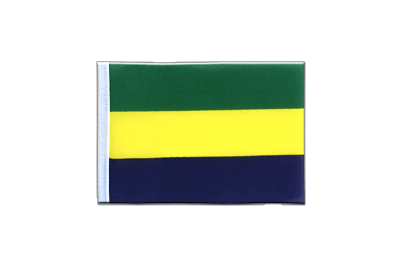Mini Flag Gabon - 4x6""