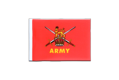 Mini Flag British Army - 4x6""