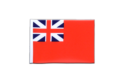 Fanion drapeau Red Ensign 1707-1801 10x15 cm