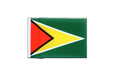 Mini Flag Guyana - 4x6""