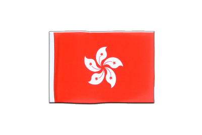 Mini Flag Hong Kong - 4x6""
