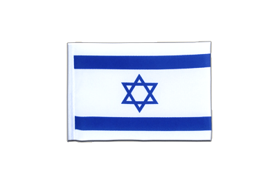 Mini Flag Israel - 4x6""