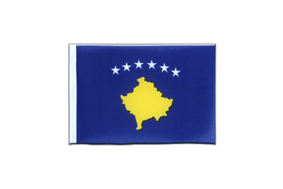 Mini Kosovo Flag 4x6""