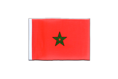 Mini Flag Morocco - 4x6""