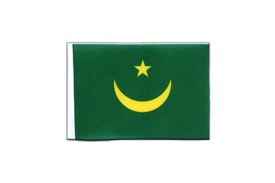 Mini Flag Mauritania - 4x6""