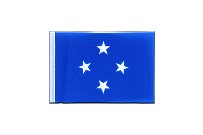 Mini Flag Micronesia - 4x6""