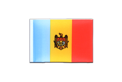 Mini Flag Moldova - 4x6""