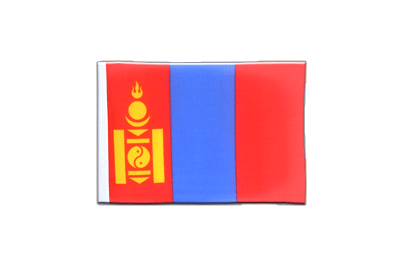 Mini Flag Mongolia - 4x6""
