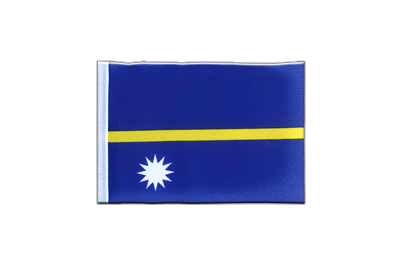 Mini Flag Nauru - 4x6""