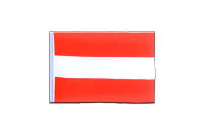 Mini Flag Austria - 4x6""