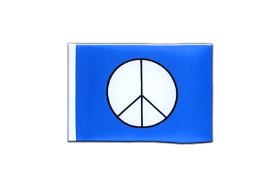 Mini Flag Peace CND - 4x6""