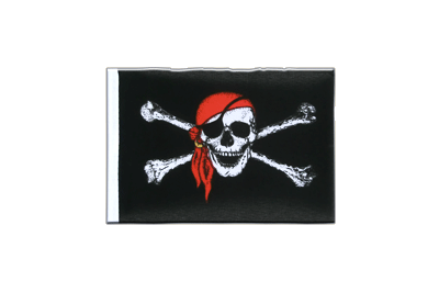 Fanion Pirate avec foulard 10 x 15 cm