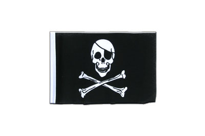 Fanion drapeau Pirate 10x15 cm