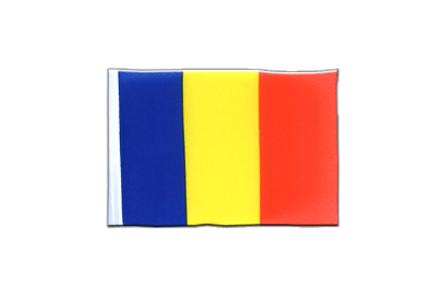 Mini Flag Rumania - 4x6""