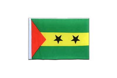 Mini Flag Sao Tome and Principe - 4x6""