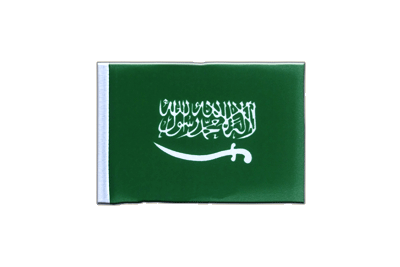 Mini Flag Saudi Arabia - 4x6""
