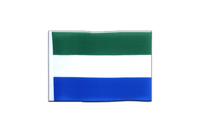 Mini Flag Sierra Leone - 4x6""